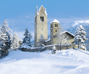 Engadin winter